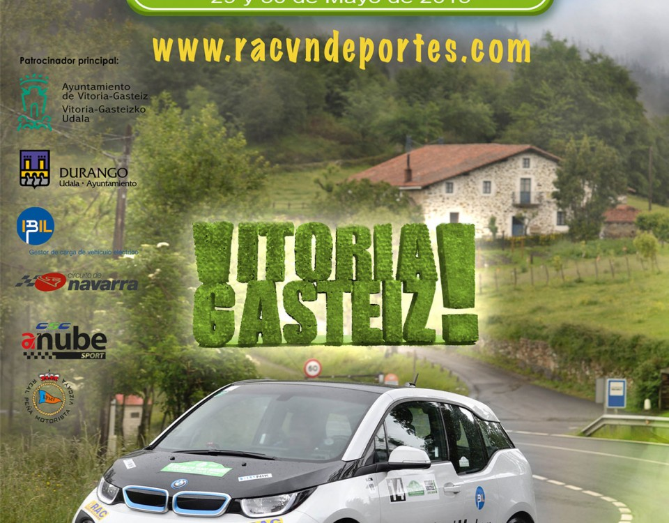 Eco rally vasco navarro 2015