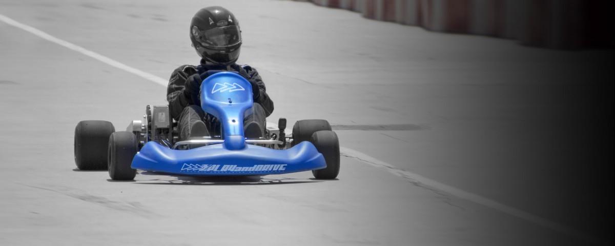 Kart electrico competicion