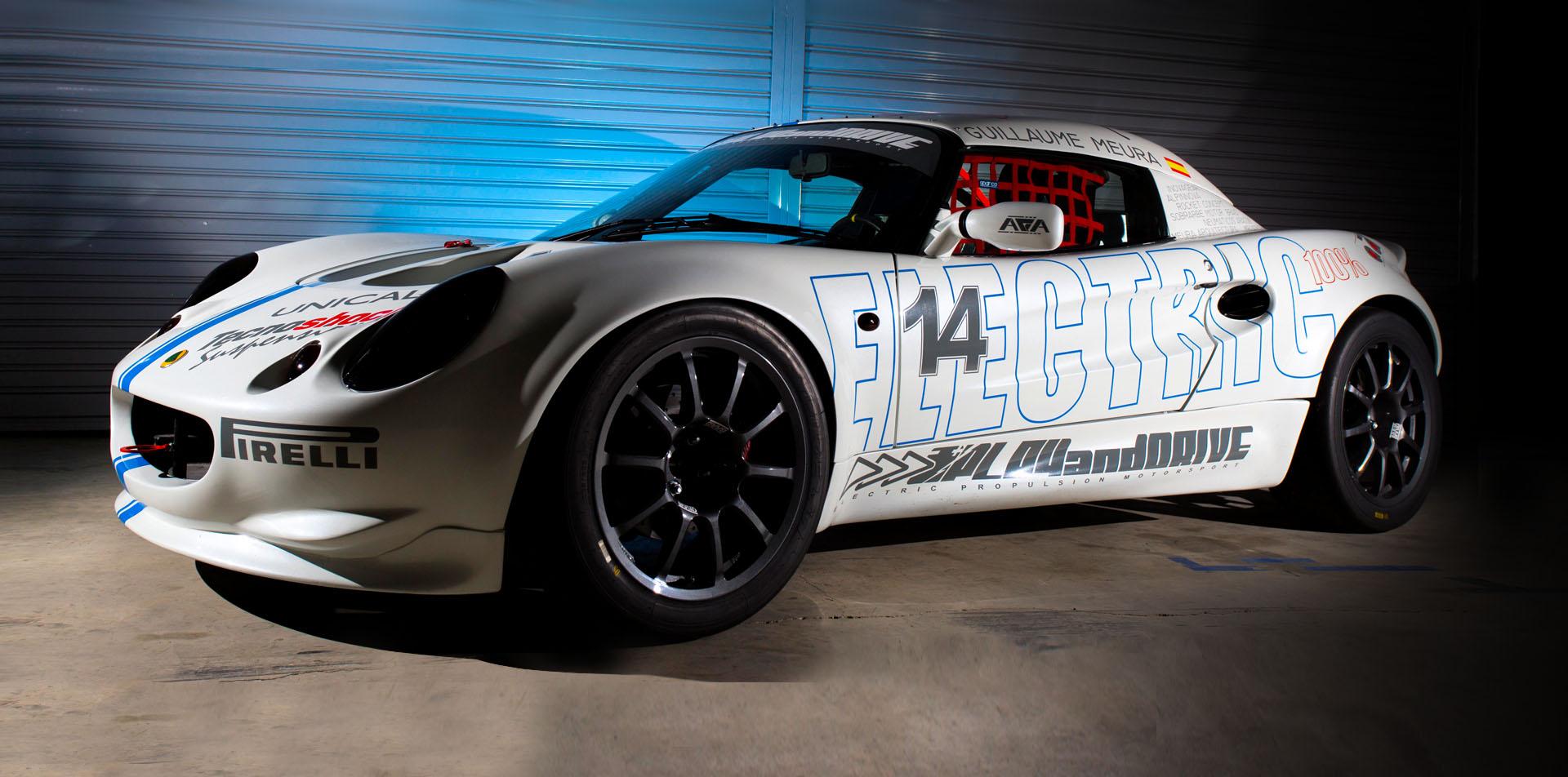 lotus elise competición electrico