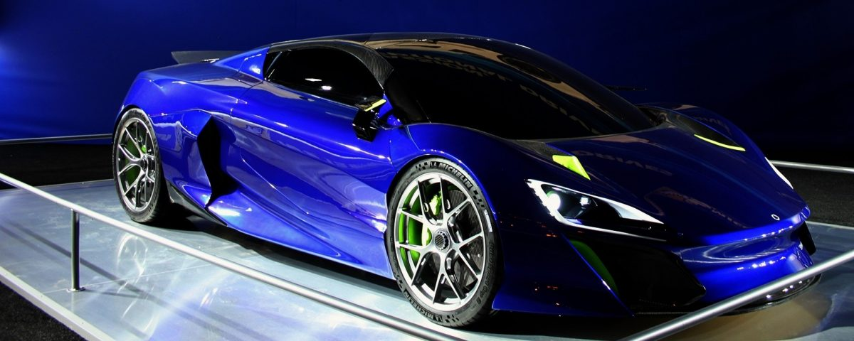 Boreas supercar hybrid Play and Drive