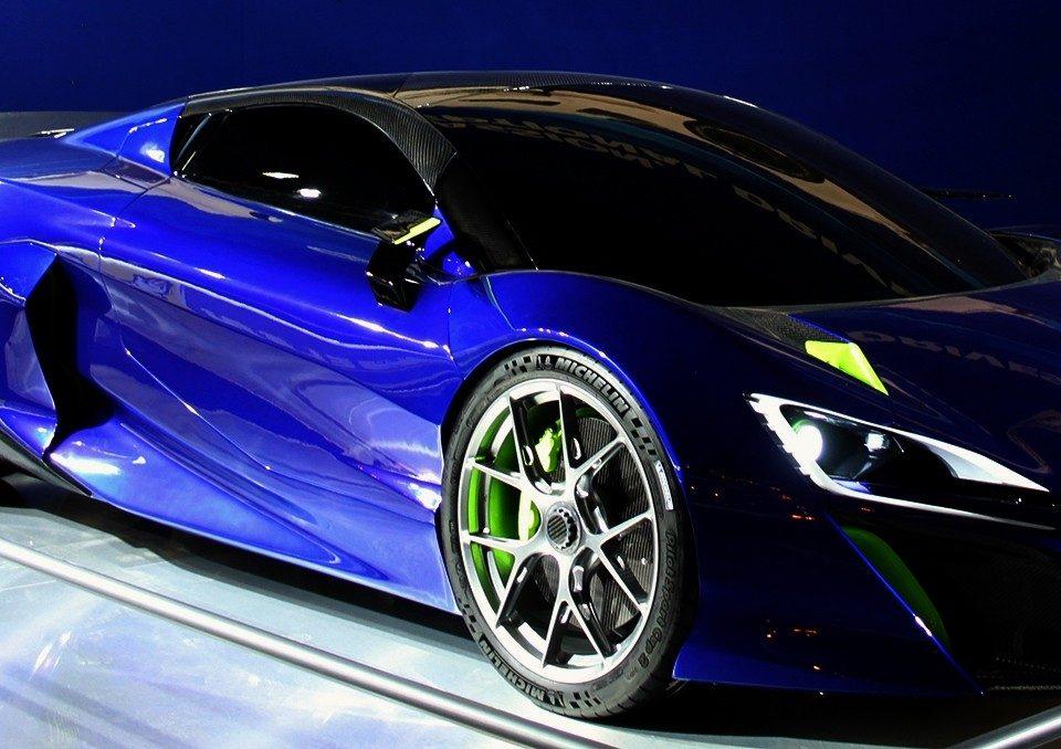 Boreas supercar hybrid Play and Drive