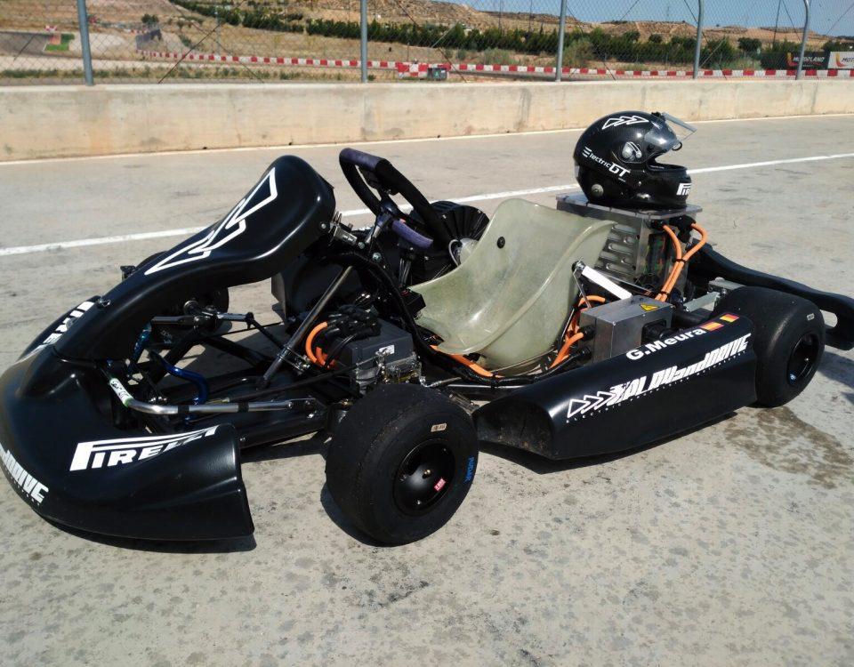 Récord, kart eléctrico, Hugo Belda, Guillaume Meura, Play and Drive, ElectricGT, E-karting, FIA, Motorland, Pirelli, kart, kart eléctrico, record, lap times