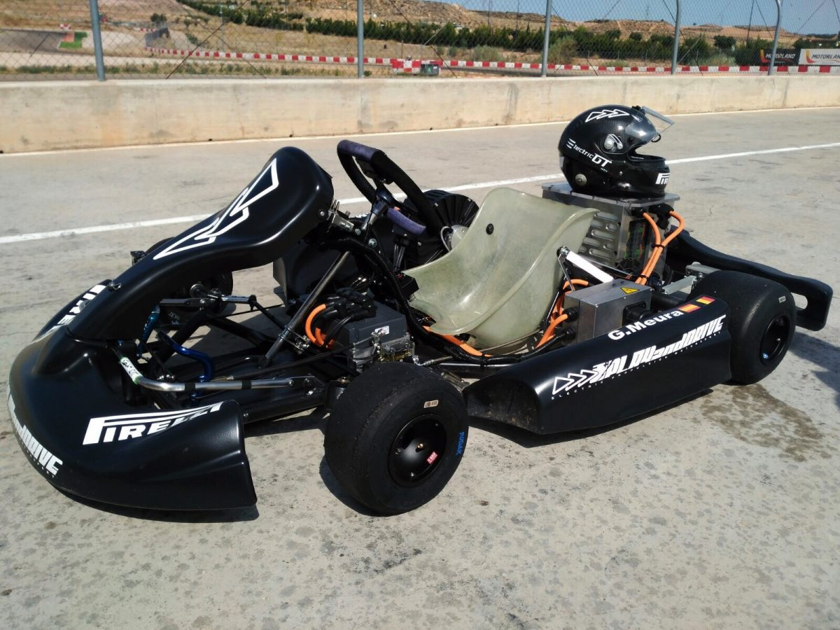 Circuito Motorland : New record electric kart play and drive electricgt fia motorland