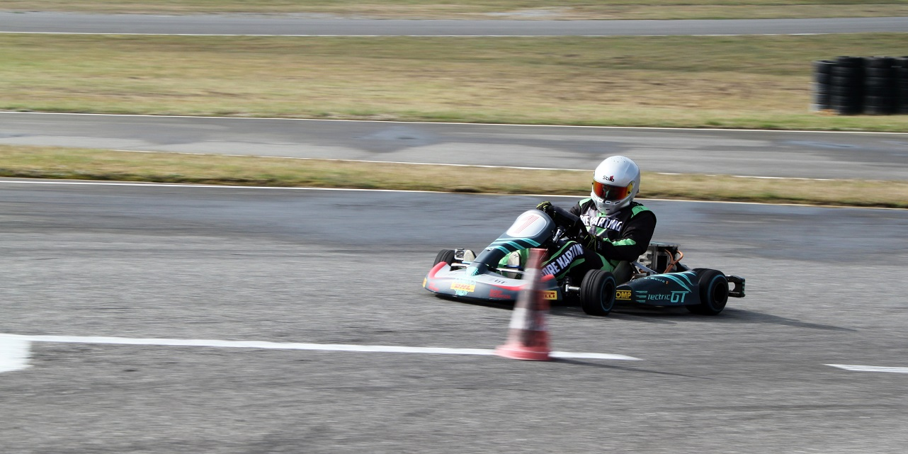 Billy Smith ekart E-Karting Play and Drive ElectricGT
