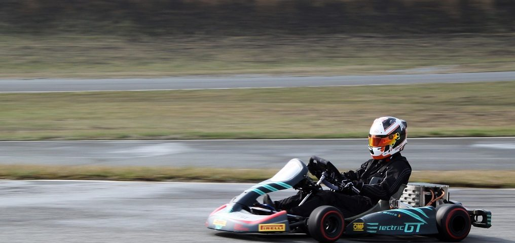 Tom Turschwel ekart E-Karting Play and Drive ElectricGT