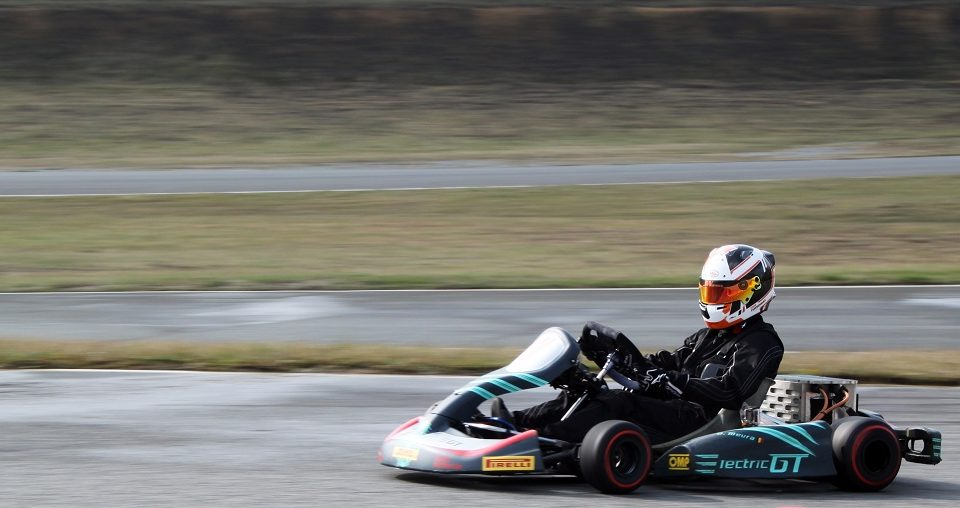 Tom Turschwel ekart E-Karting Play and Drive ElectricGT