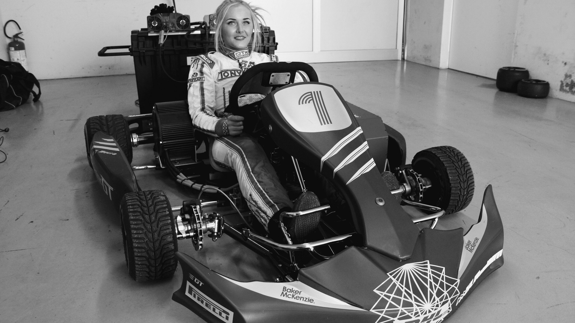 Aoife Melia Play and Drive eKarting EGT4