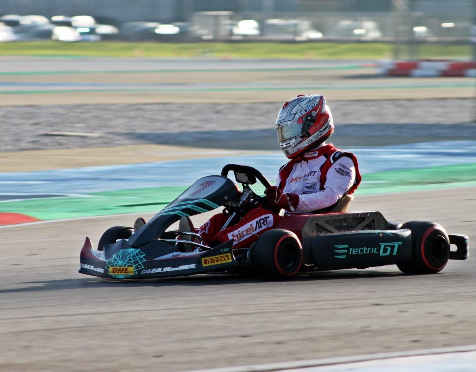 Davide Forè Play and Drive eKarting EGT4