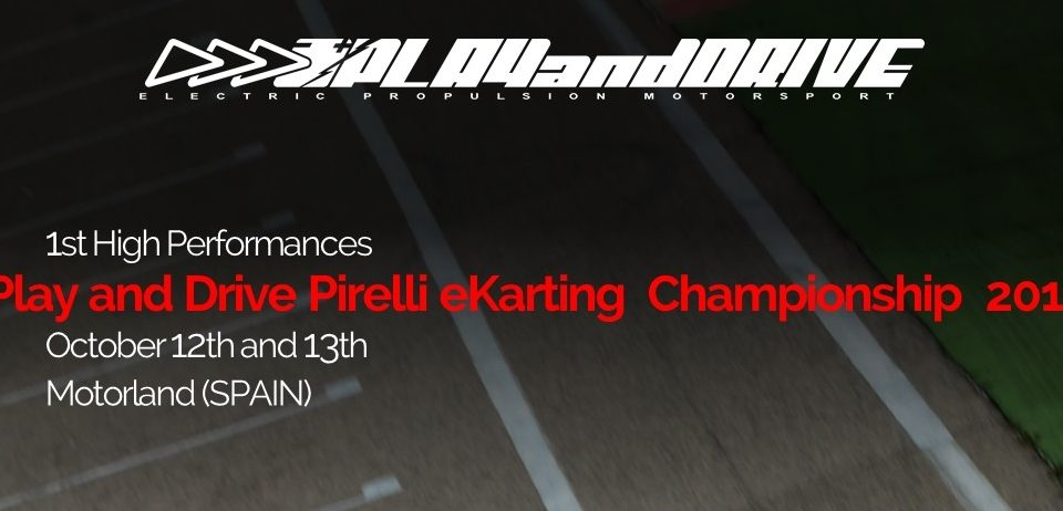 Play and Drive Pirelli eKarting Championship