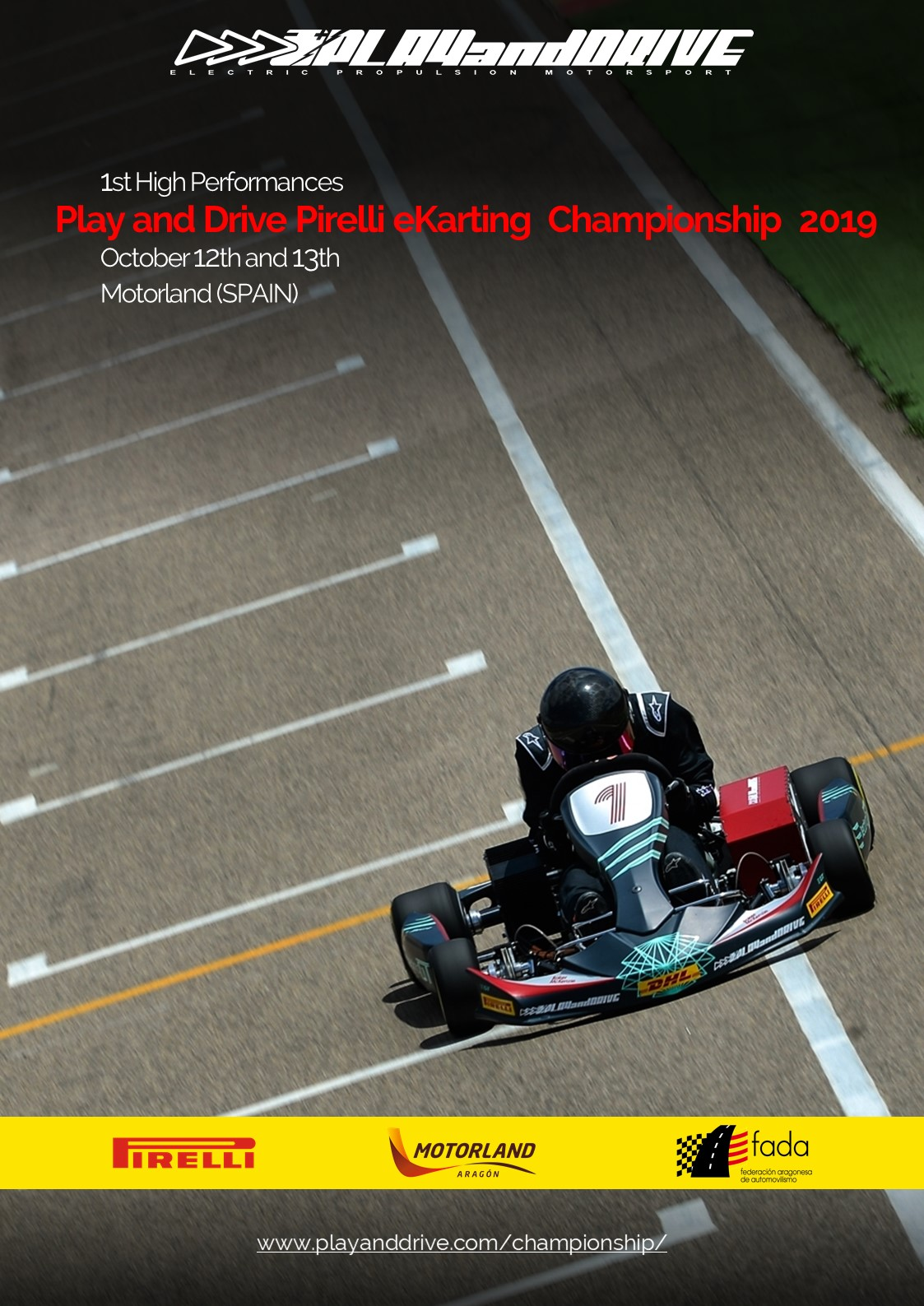 Play and Drive Pirelli eKarting