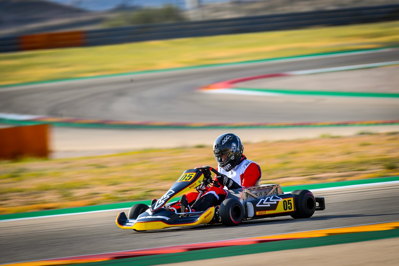 Guillaume Meura eKarting Record Play and Drive Pirelli Motorland