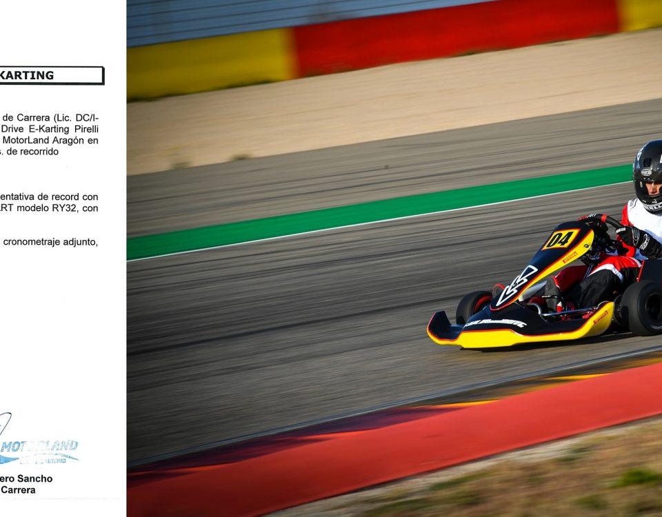 Guillaume Meura eKarting Record Play and Drive Pirelli Motorland