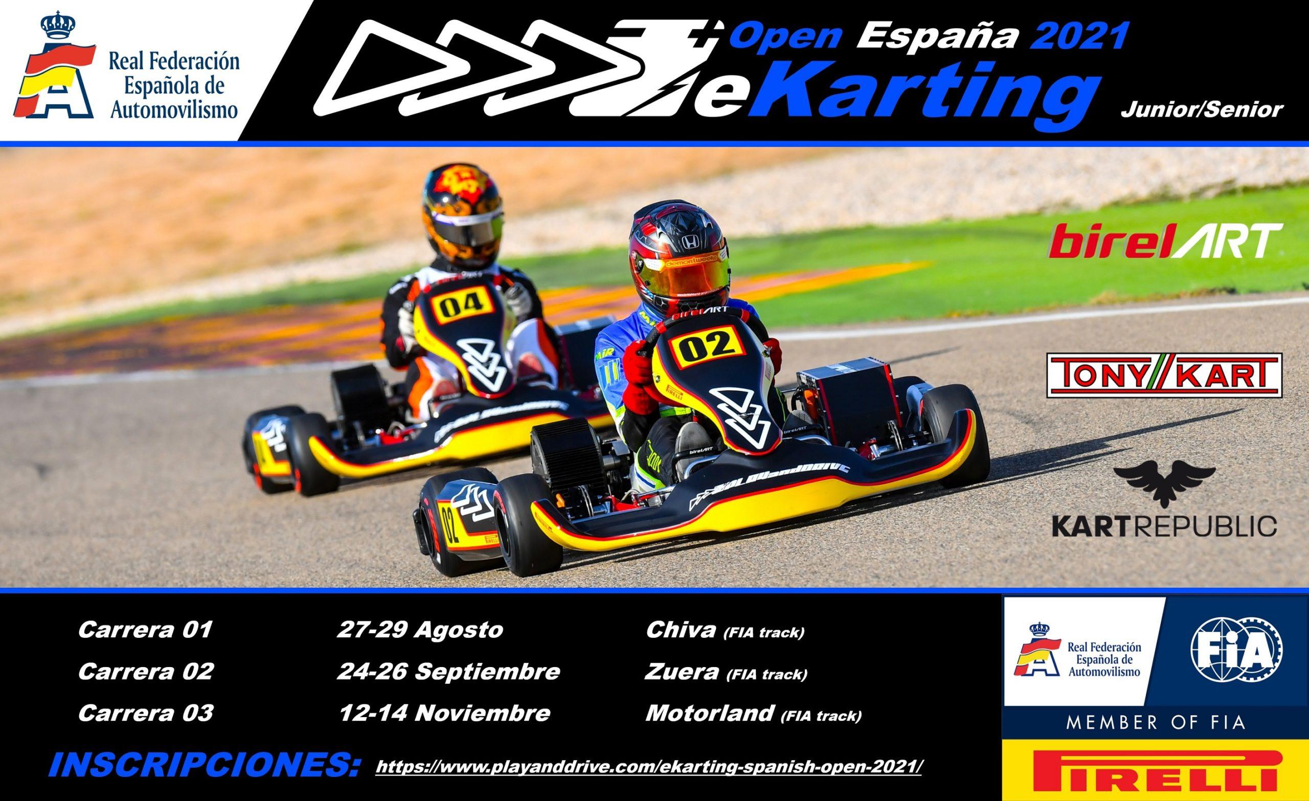 2021 Cartel Open Espana eKarting ES